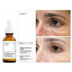 Original Caffeine Solution 5% + EGCG Eye Serum Removal Eye Bag Dark Eye Circle Lightening Fine Line Essence Eye Skin Care