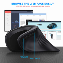 Magic Ergonomic Vertical Wireless Mouse