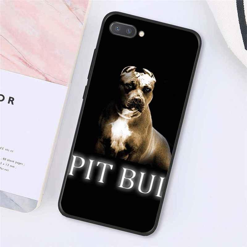 Maiyaca حفرة الثور جميل كلب بيتبول الهاتف حافظة لهاتف huawei الشرف 8X9 10 20 لايت الشرف 7A 7C Honor10i View20