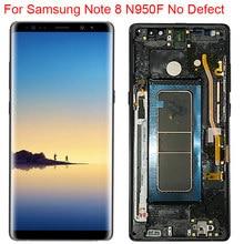 Nowy oryginalny wyświetlacz LCD N950F do Samsung Galaxy Note 8 z ramką Super AMOLED uwaga 8 SM-N950A ekran dotykowy N950U LCD