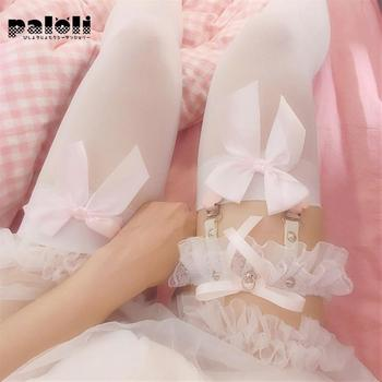 Paloli Heart Sexy Thigh Ring Accessories Japanese Girl's Lace Suspender Socks Clip European And American Leg Garter - discount item  32% OFF Women's Intimates