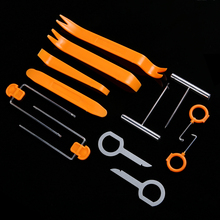 12Pcs Car Radio Trim Panel Removal Tool Dashboard DVD Player Refit Removal Install Special Disassembly Tool
