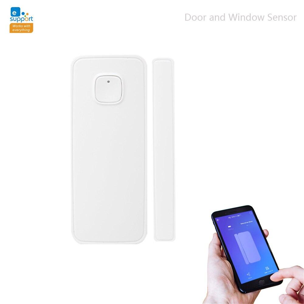 EWelink Smart WiFi Wireless Door Sensor Door Open / Closed Detectors Action With The Other WIFI Switch On The APP
