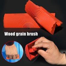 Набор кистей для рисования имитация дерева каучука узор под