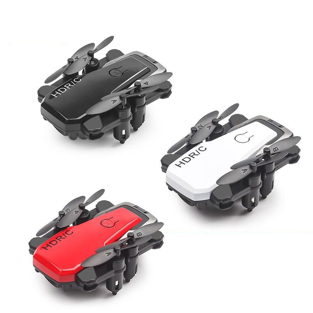 lowest price S9 2 4G Mini Foldable Drone RC Drone 360 Degree Flip One-Key Return Headless Mode H L Speed Switch RC Quadcopter with Light