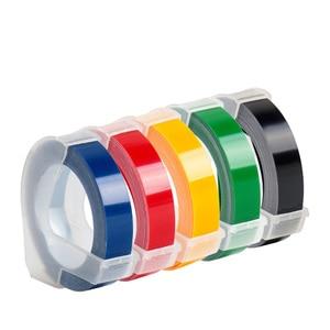 Image 3 - Dymo 12965 수동 라벨 프린터 dymo 1610 1540 motex c101 dymo organizer xpress 라벨 제조업체 용 9mm 3d 엠보싱 테이프