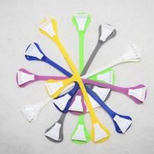 5 pçs/saco prendedores de fralda de pano infantil fivelas de cinto 4 cores diferentes