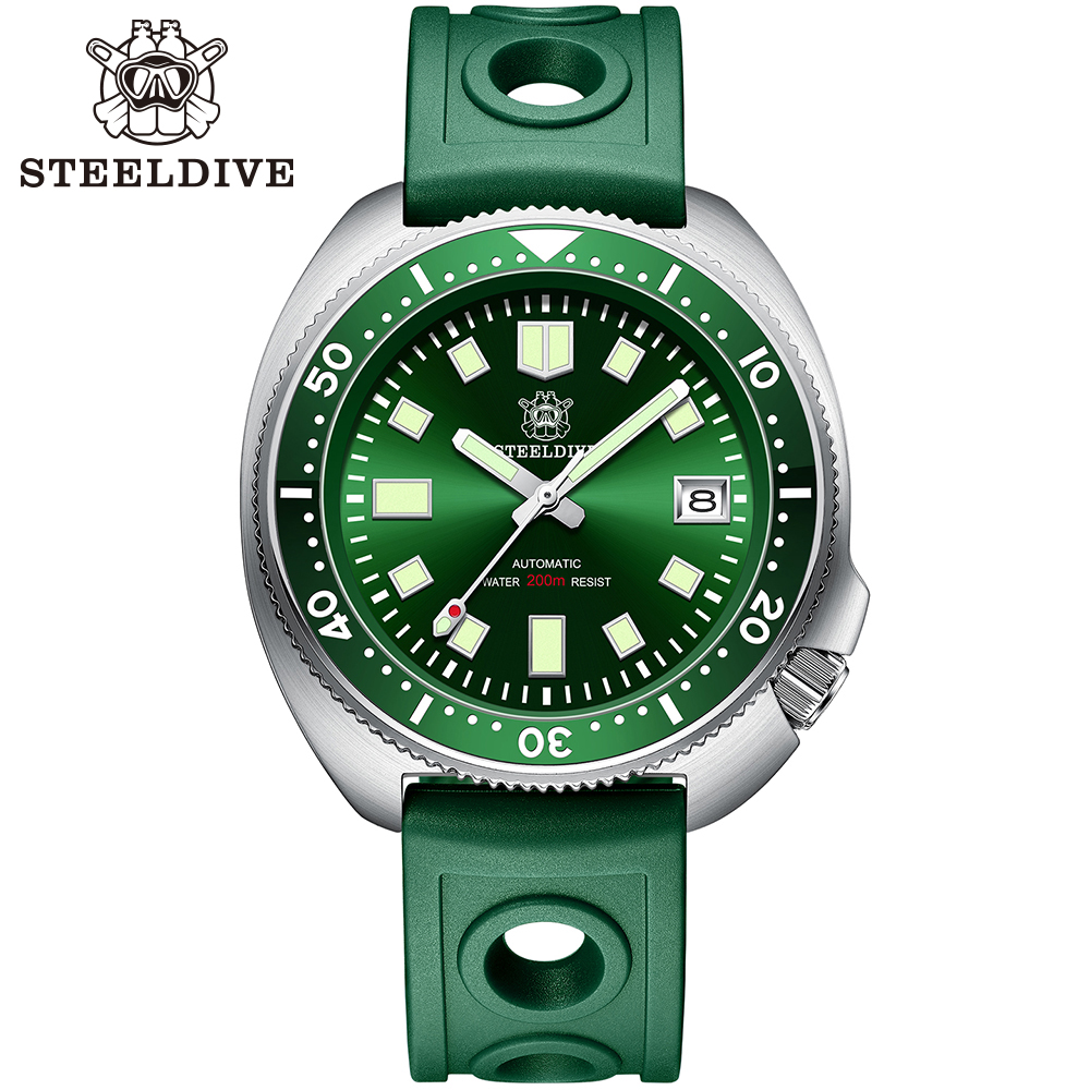 H7684a50332c940b1a4190c9ee1e4aaf7H SD1970 Steeldive Brand 44MM Men NH35 Dive Watch with Ceramic Bezel