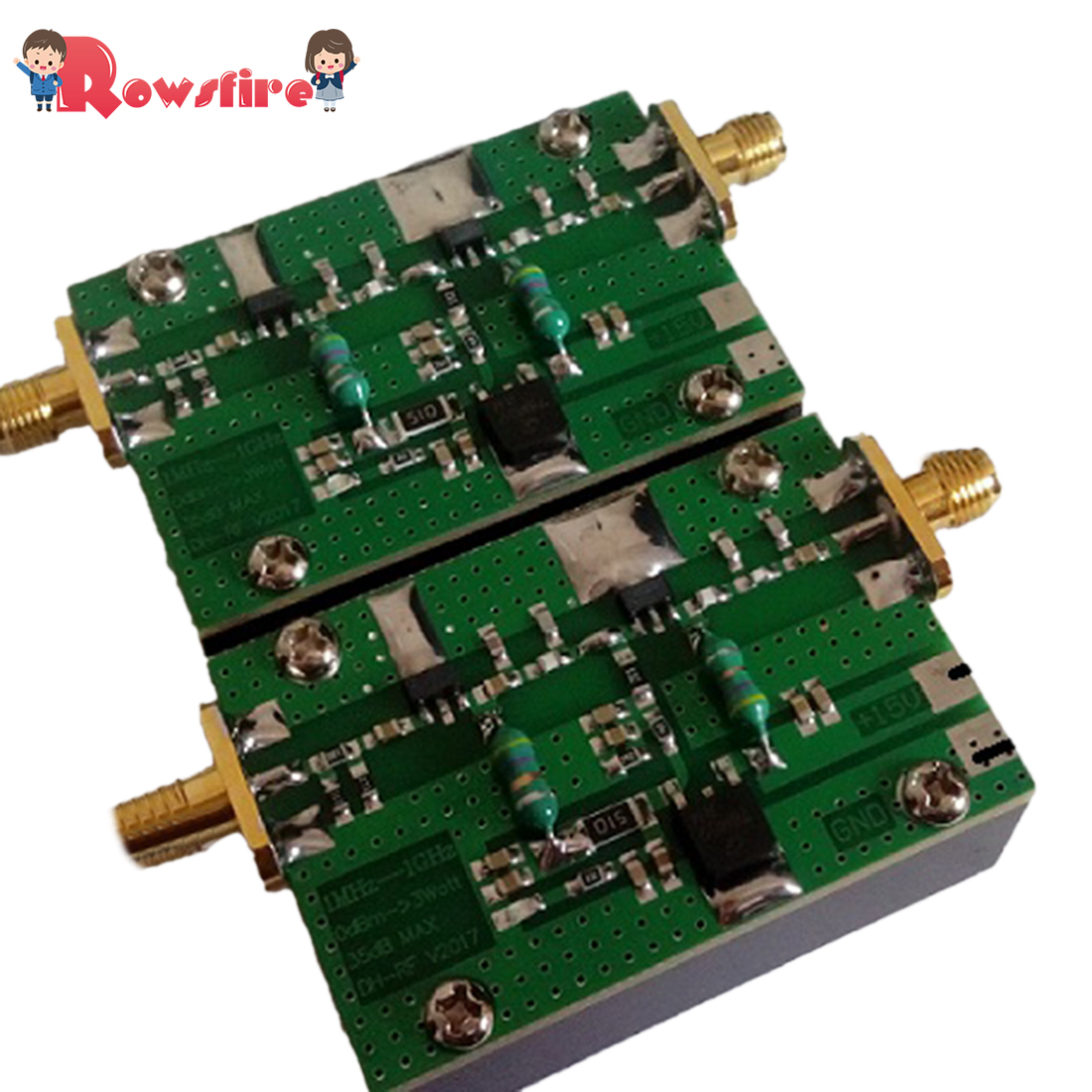 1MHz-1000MHZ 3W Radio-Frequency Amplifier HF FM VHF UHF Wideband RF Power Amplifier