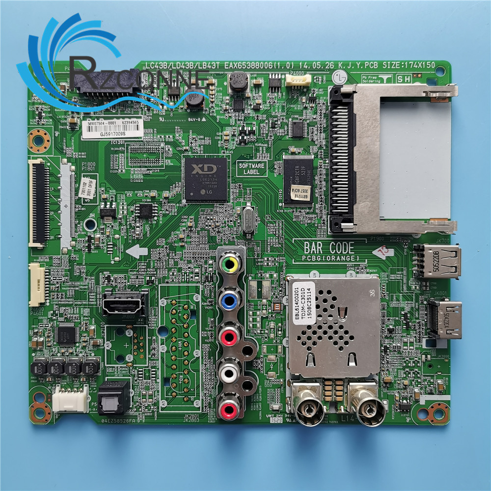 Motherboard Mainboard Card for EAX65388006(1.0) LC43B/LD438/LB43T-in Industrial Computer & Accessories from Computer & Office    1