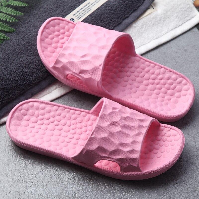 Mens Anti Slip Shoes Open Toe Flat Slippers Indoor Bathing Sandals EVA Flip Flop