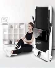 Smart Electric Foldable Treadmill Mini Running Trainner Jog Space Walk Machine Aerobic Sport Indoor Fitness Equipment Family
