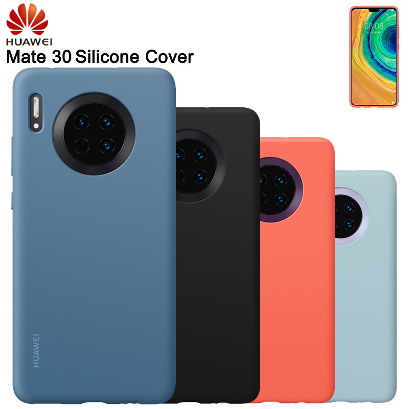 Original Huawei Shockproof Silicone Case For Mate 30