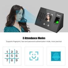 Aibecy Biometrische Fingerprint Zeit Teilnahme Maschine mit HD Display Screen Unterstützung Gesicht Fingerprint Passwort Multi sprache