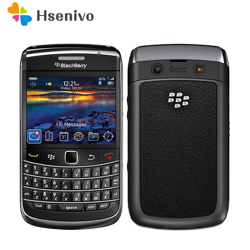 100% Original BlackBerry 9300 Curve Mobile Phone Smartphone Unlocked 3G WIFI Refurbished Cellphones Free shipping