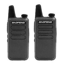2 pçs baofeng BF-R5 rádio em dois sentidos comunicador rádio fm estação de rádio baofeng mini walkie talkie