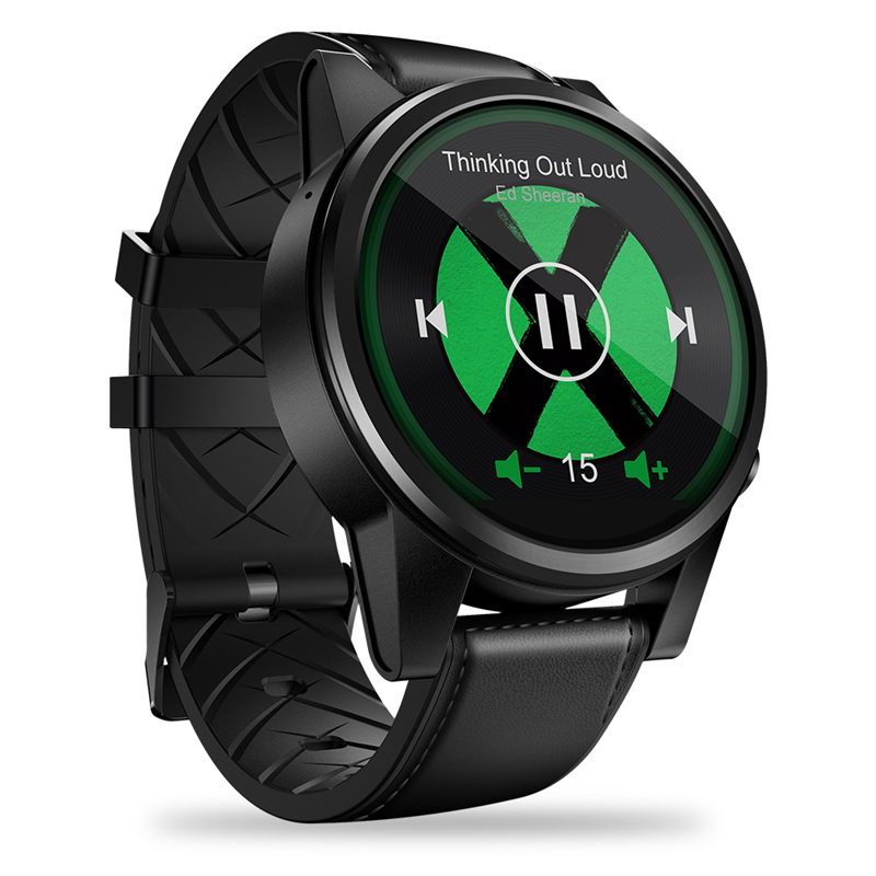 <font><b>4G</b></font> Network Smart Watch 1.6Inch LTPS Crystal Display Thor 4 PRO Healthy Fitness Monitoring GPS Quad Core Leather Band <font><b>Smartwatch</b></font> image