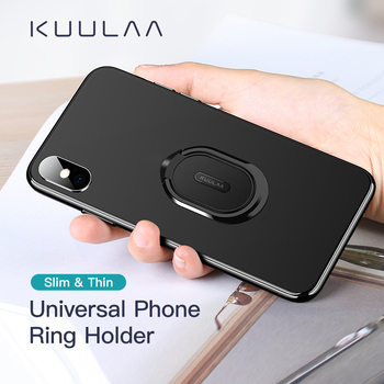 KUULAA metalowy uchwyt pierścieniowy na telefon komórkowy telefon komórkowy wsparcie akcesoria uchwyt magnetyczny do samochodu gniazdo stojak na telefony komórkowe tanie i dobre opinie DigRepair CN (pochodzenie) Uniwersalny Other Uchwyt pierścieniowy na palec