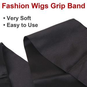 Image 3 - Xtrend 헤어 타이 밴드, 버진 헤어 익스텐션 헤어 밴드, 새틴 실크 정면 headan, 커스텀 에지 scraf Wrap Headband belt