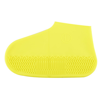 1 Pair Reusable Silicone Shoe Cover S / M / L Dwaterproof Water Rain Shoes Covers Outdoor Camping Non Slip Rubber Rain Boot 11