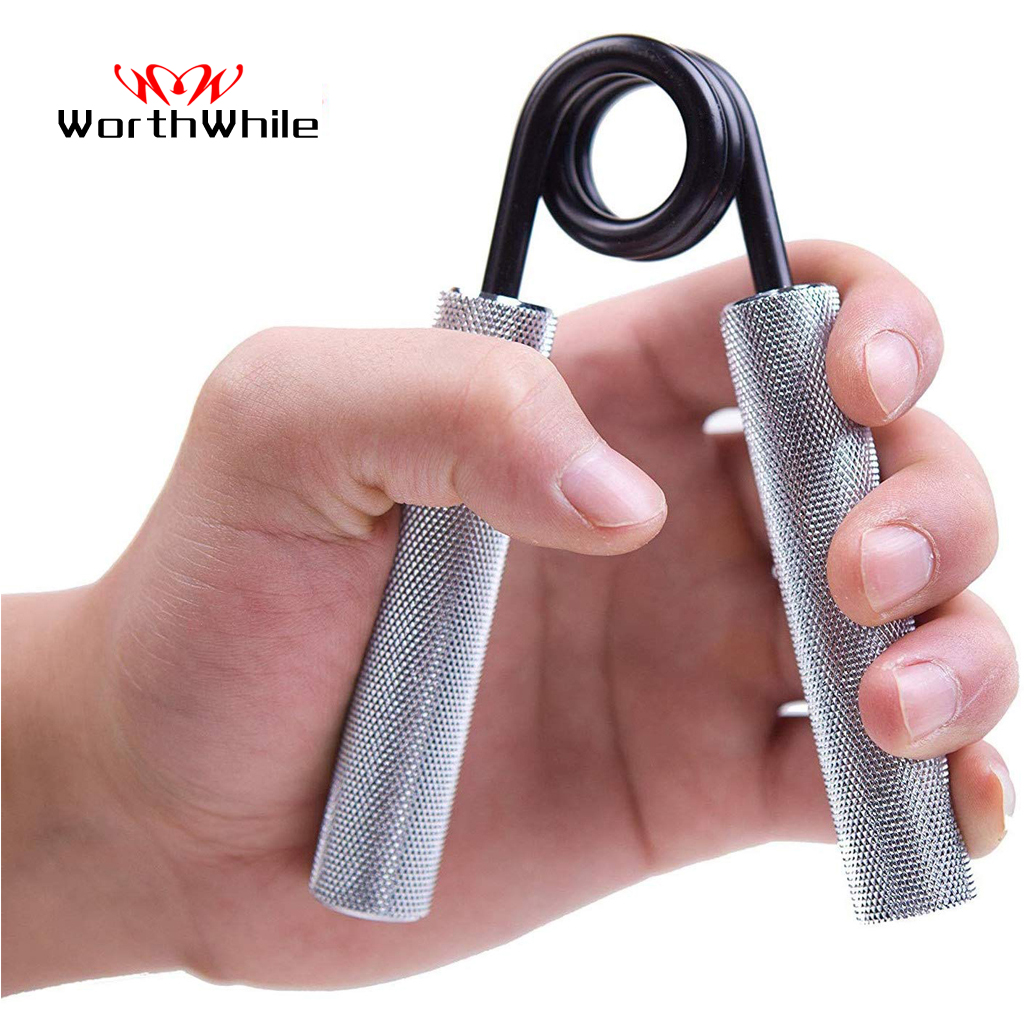 WorthWhile 100-300LBS Gym Fitness Hand Grip Men Adjustable Finger Heavy Exerciser Strength Muscle Recovery Hand Gripper Trainer