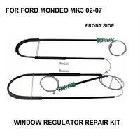 포드 mondeo mk3 윈도우 레귤레이터 수리 키트에 대한 자동차 케이블 전면 왼쪽 또는 오른쪽 2000-2007 새로운