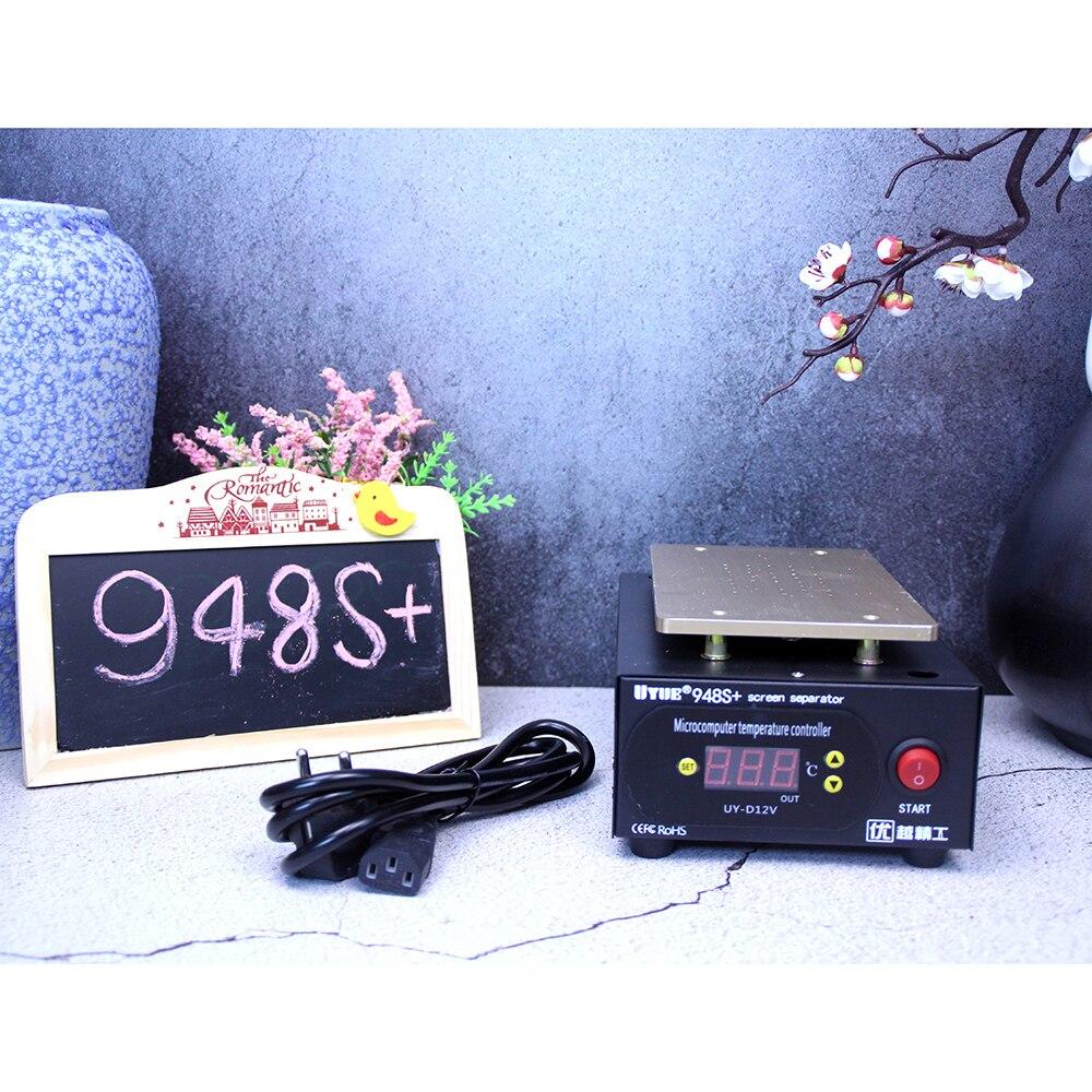 UYUE948S+ LCD Separator Machine Screen Repair Machine Build-in Pump Vacuum Kit For IPhone For Samsung+Gift Free Shipping