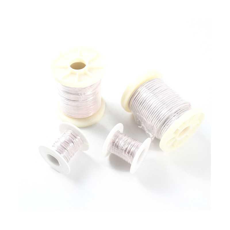 0.07mm 147 238 270 357 416 714 952 1785 brin fil Litz brins cristal Micro antenne Occ argent casque écouteur câble 0.07