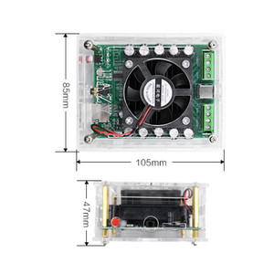 Image 5 - AIYIMA بلوتوث 5.0 TDA7850H مكبر للصوت 50Wx4 فئة AB 4 قناة الناتج سيارة مكبر للصوت المجلس للصوت مكبرات صوت لتقوم بها بنفسك