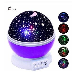 LED Rotating Night Light Proje