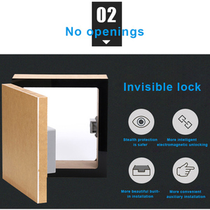 Image 3 - قفل ذكي لخزانة درج الاستشعار الذكية التعريفي خزانة باب خزانة ملابس قفل VDX99