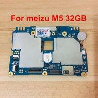 Goodwork разблокирована мобильная электронная панель материнская плата схемы материнской платы гибкий кабель с прошивкой для meizu M5 32GB