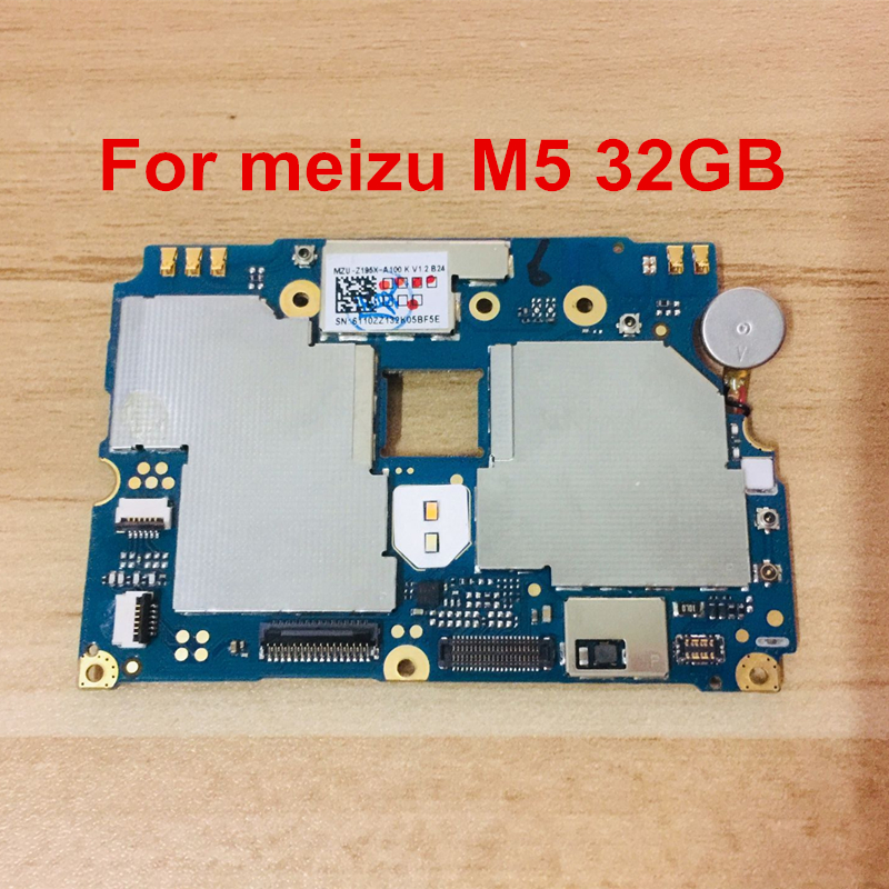 Goodwork Unlocked Mobile Electronic Panel Mainboard Motherboard Circuits Flex Cable With Firmware For Meizu M5 32GB