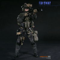 1:6 American FBI SWAT Team Detective Agent SAN DIEGO Detective for Gift 78044 B Collectible Full Action Figure Model