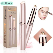 Electric Eyebrow Trimmer Mini Eye Brow Shaver Portable Epilator Pen Ha
