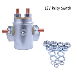 12 V 24 V Car Relay Switch Autocrane Boom Winch Solenoid Relay Switch 6 Terminals For Golf Cart Marine #R10