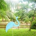 Пластиковые декоративные красивые статуэтки Фламинго орнамент фламинго украшение газона Искусственный Свадебный двор