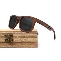 Wayfarer Full - Noyer - Noir - Coffret en bois