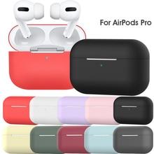 Для Apple Airpods Pro, беспроводной Bluetooth чехол для наушников, силиконовый защитный чехол для наушников, чехол для зарядки с крючком