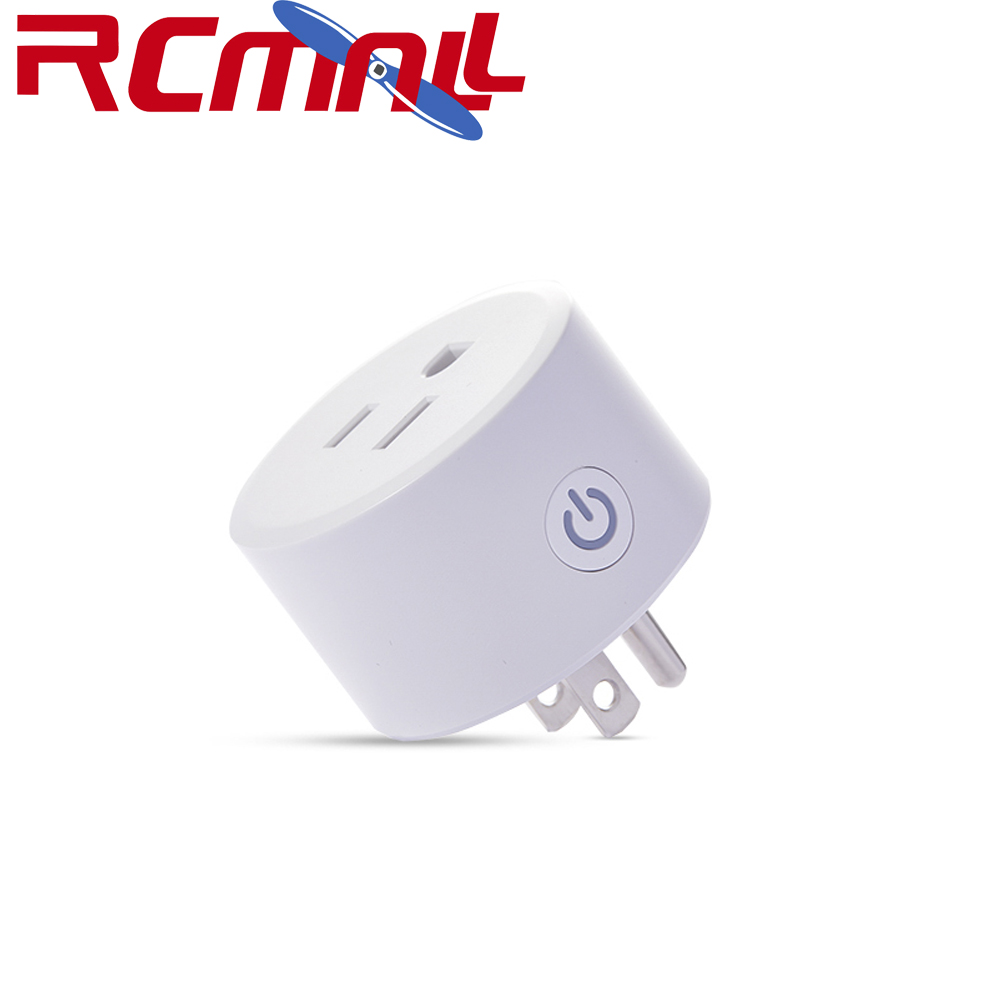 DoHome Wifi Smart Plug Compatible With Apple HomeKit, Socket Outlet Switch Home APP Alexa/Google Assistant Timer, US Plug