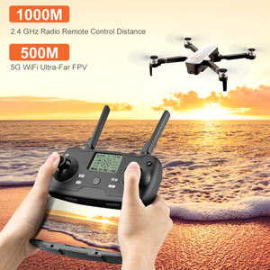Image 5 - 2019 New RC Drone 8811 GPS 5G Quadcopter with Wide Angle GPS 4K Camera Drone Gesture Foldable Optical Flow Dron Helicopter Toys