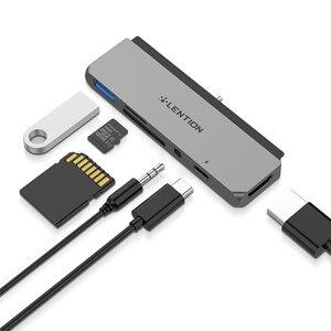 Image 1 - USB C многопортовый концентратор для нового iPad Pro 11/12.9, с 4K HDMI, USB 3,0, SD/Micro SD кардридерами, питание и 3,5 мм Aux