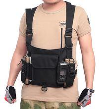 Тактический жилет нейлоновый военный нагрудная сумка чехол тактический