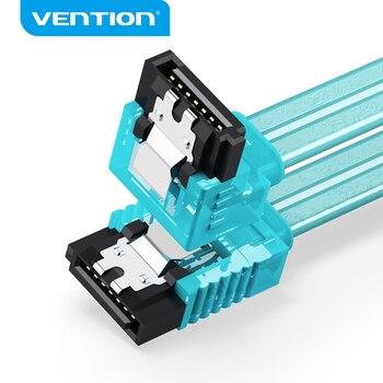 Tions Sata Kabel 3,0 SSD HDD 2,5 Sata III Gerade Rechtwinklig Festplatte Kabel Für ASUS Gigabyte Hard stick daten kabel