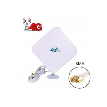 35dBi  4G SMA Antenna Male Dual Interface Mimo 4G LTE External Antenna For B525 B310 B315 B593 B612 B715 B818 lot of 500pairs genuines huawei b525 b593 b315 b310 pair 2x external antenna type e
