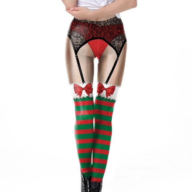 3D Christmas Leggings 5