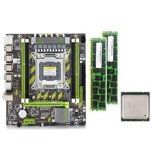 X79G материнская плата набор с LGA2011 Combos Xeon E5 2640 CPU 2 шт. x 8 ГБ = 16 Гб памяти DDR3 RAM 1600 МГц PC3 12800R