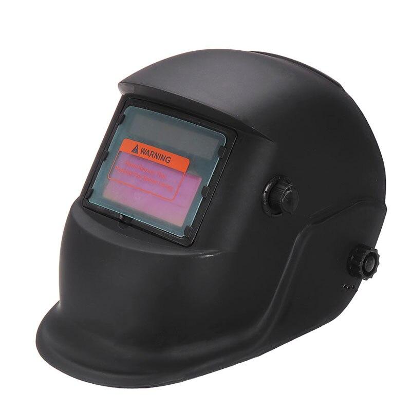 Black Solar Automatic Darkening Electric Welding Mask Helmet Goggles Welding Lens For Welding Welder Protective Machine