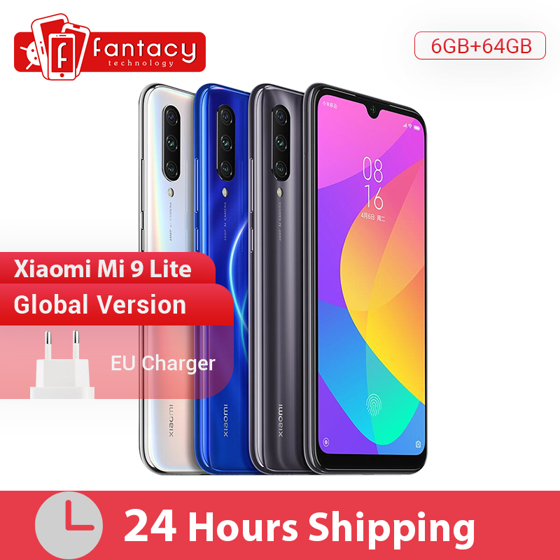 In Stock Global Version Xiaomi Mi 9 Lite 6GB 64GB Smartphone Snapdragon 710 Octa Core 48MP Triple Camera 32MP Front Camera NFC|Cellphones|   - title=