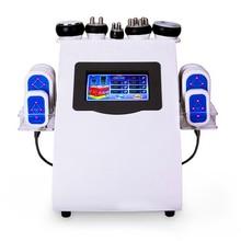 6 in 1 Lipo Laser+ Cavitation+RF+Vacuum/ RF 40K Cavitation Vacuum Lipolaser Slimming body weight loss Machine